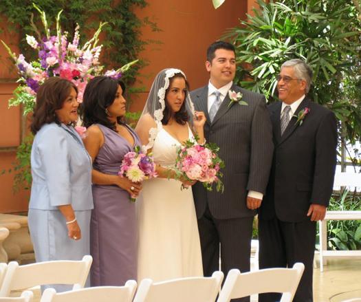 Michelle Saram Wedding